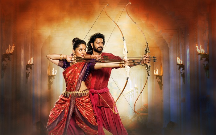 Baahubali 2 la conclusión-2017 Movie HD Wallpaper Vistas:3055