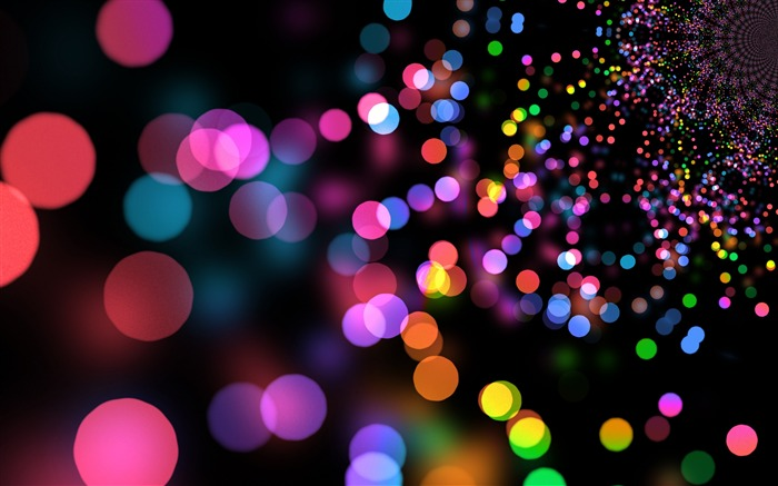 Glare circles colorful bright-2017 High Quality Wallpaper Views:950