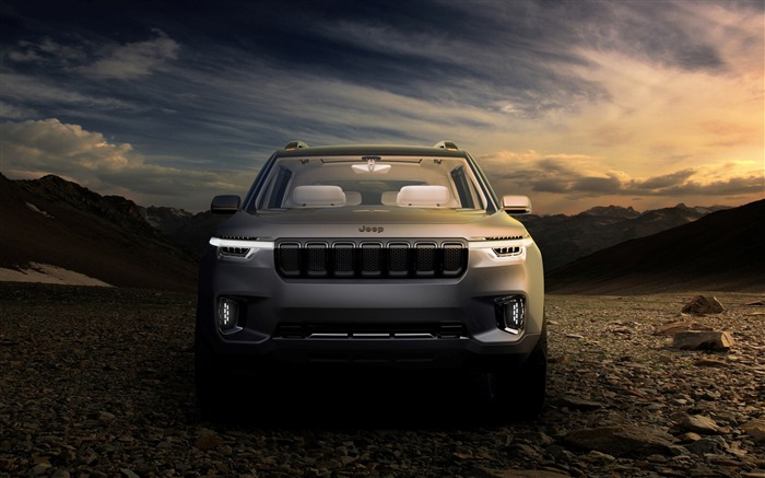 Jeep yuntu concept-Brand Car HD Wallpaper Views:1086