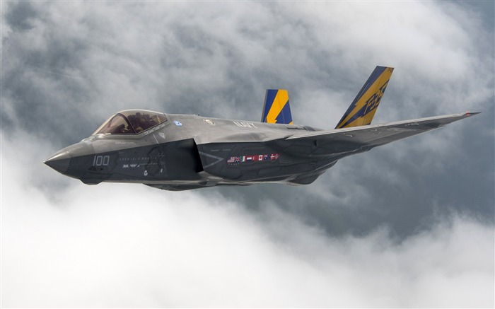 Lockheed martin f 35-2017 High Quality Wallpaper Views:887