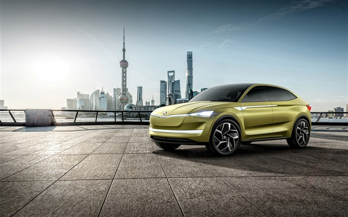 Skoda vision e concept-Brand Car HD Wallpaper Views:629