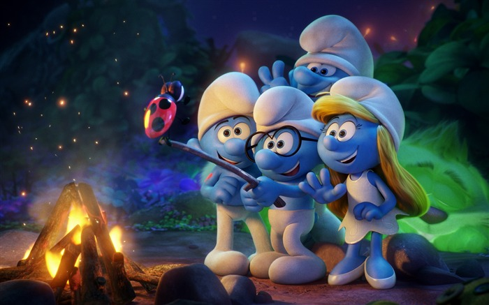 Smurfs the lost village animation-2017 Película HD Wallpapers Vistas:2648