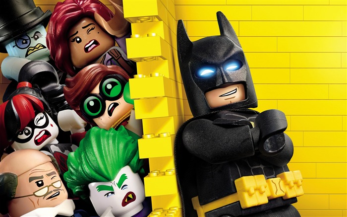 El lego batman-2017 Película HD Wallpapers Vistas:5936
