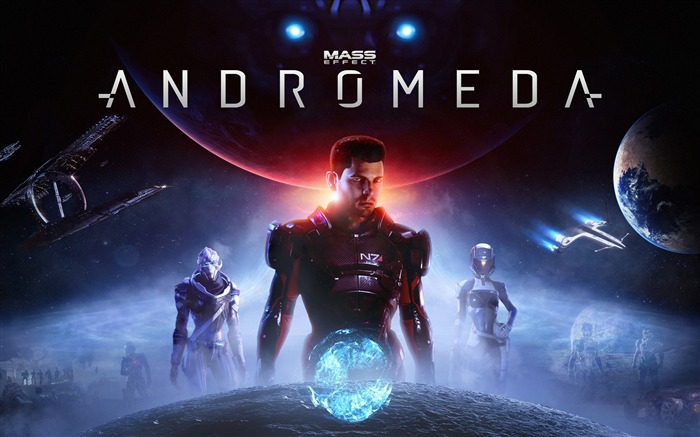 Mass Effect Andromeda 2017 Game Wallpaper Views:2823