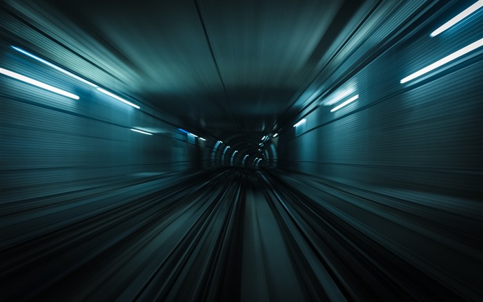 Tunnel traffic turn-High Quality Wallpaper Views:478