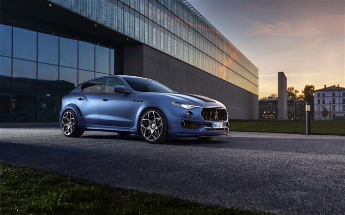 2017 Novitec Maserati Levante Esteso HD Wallpaper Views:2638