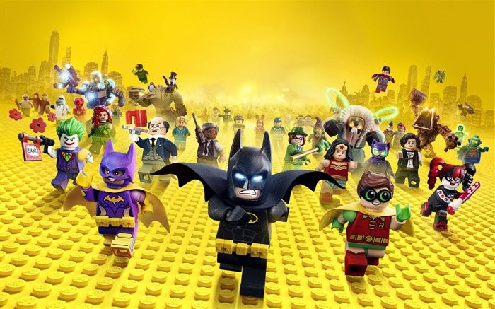 The Lego Batman Movie 2017 HD Wallpaper Views:3572