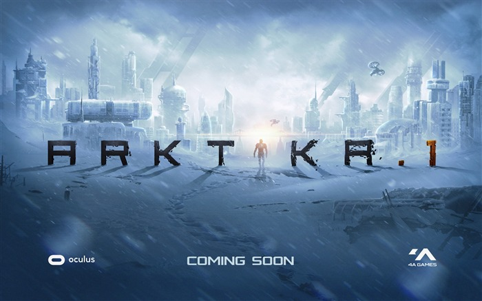 Arktika 1 oculus touch vr-2017 Game Poster Wallpaper Views:916