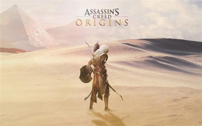 Assassins Creed Origins Egypt Pyramids Wallpaper 01 Views:867
