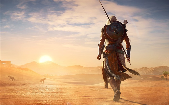 Assassins Creed Origins Egypt Pyramids Wallpaper 02 Views:934