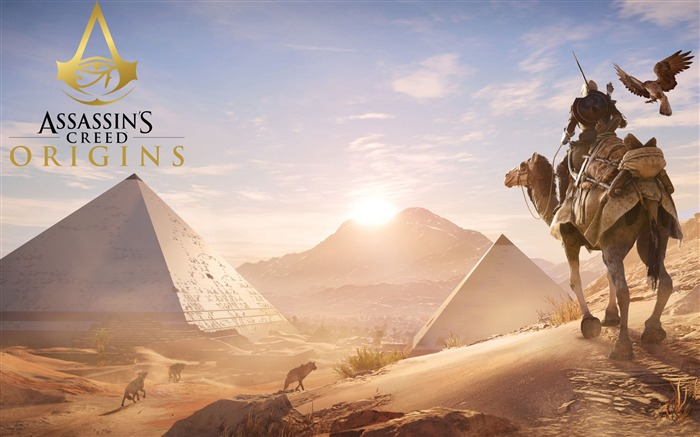 Assassins Creed Origins Egypt Pyramids Wallpaper 03 Views:917