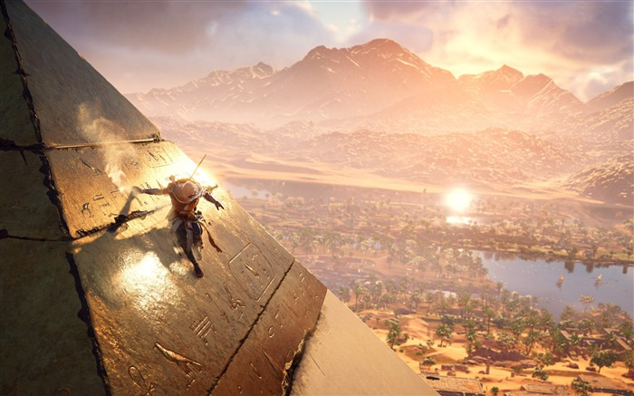 Assassins Creed Origins Egypt Pyramids Wallpaper 10 Views:893