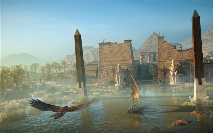 Assassins Creed Origins Egypt Pyramids Wallpaper 14 Views:1087