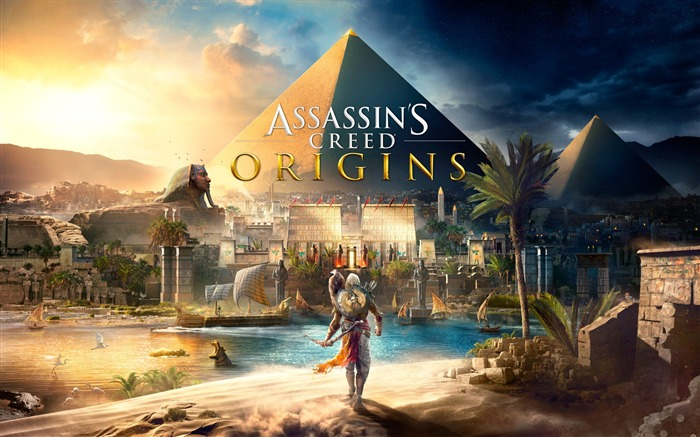 Assassins Creed Origins Egypt Pyramids Wallpaper Views:14538