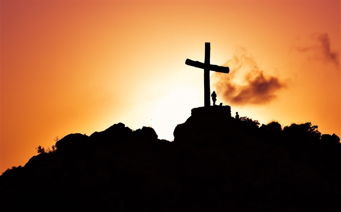 Cross at sunset-2017 High Quality Wallpaper Views:491