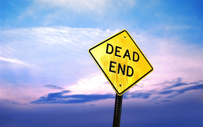Dead end sign-2017 High Quality Wallpaper Views:452
