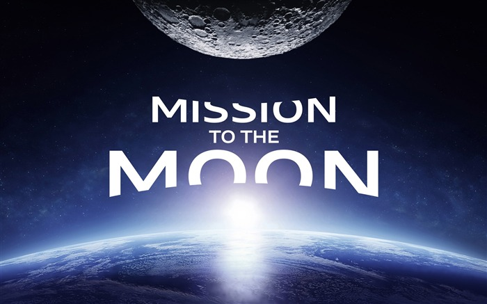 Mission to the moon-Universe HD Wallpaper Views:880