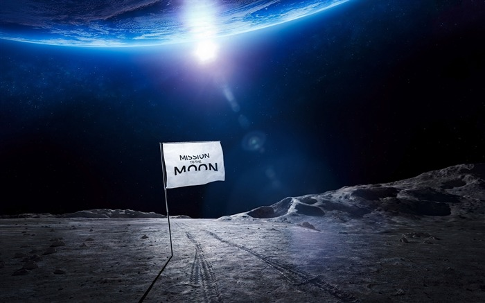 Mission to the moon-Universe HD Wallpapers Views:776
