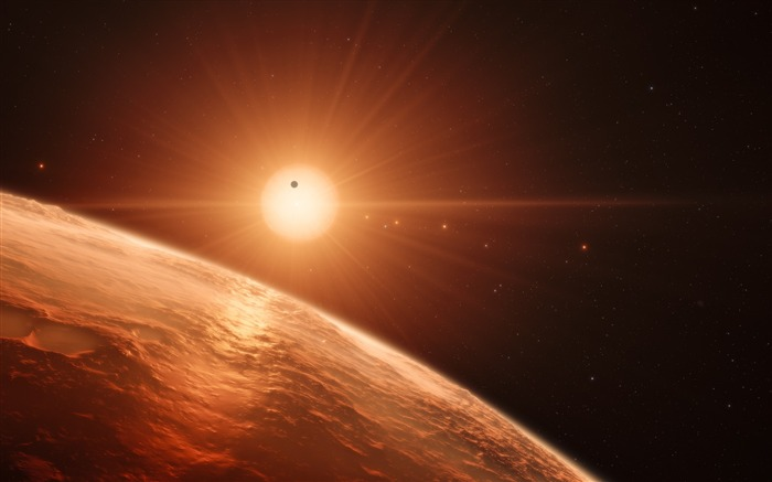 Trappist planet-Universe HD Wallpapers Views:1053