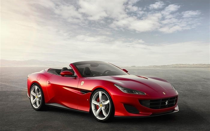 2018 Ferrari Portofino Supercar HD Wallpaper Views:1895