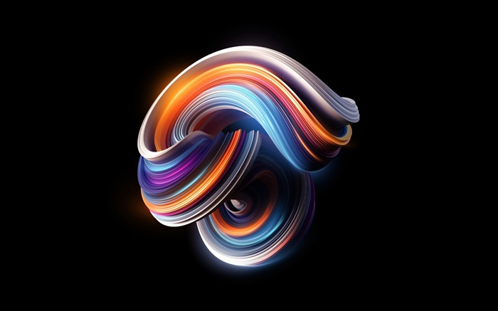 Abstract colorful curves-Design HD Wallpaper Visualizações:1501