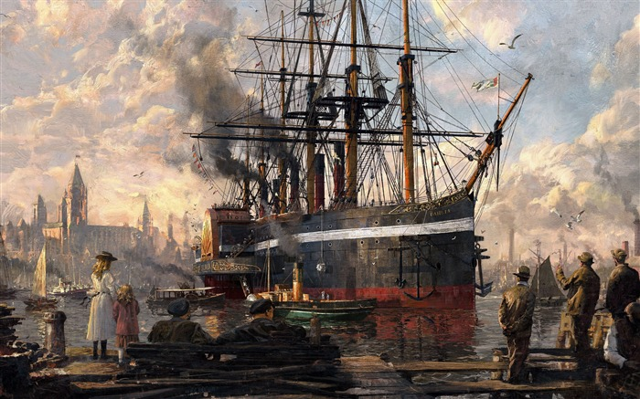 Anno 1800 artwork-2017 Game HD Wallpaper Views:1090