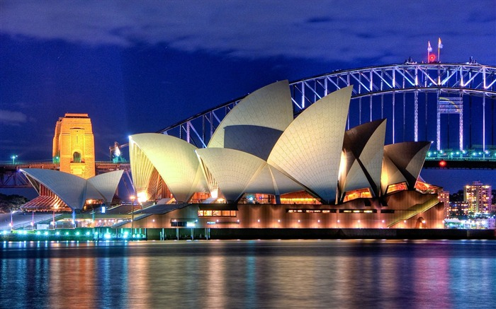 Australia opera night buildings-Cities HD Wallpaper Views:3175 Date:9/9/2017 8:46:04 AM