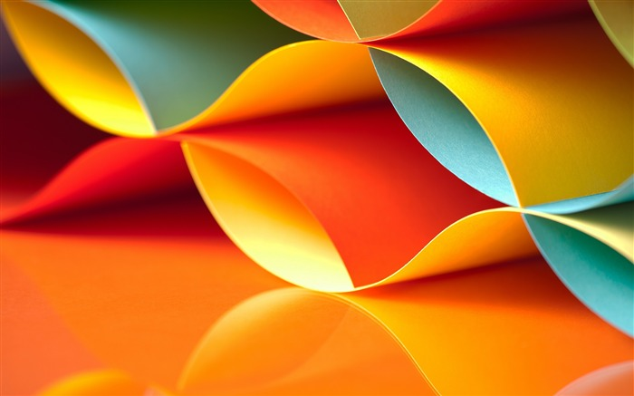 Colorful Papers-Vector HD Wallpaper Views:815