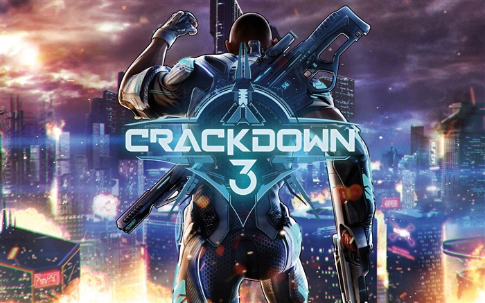 Crackdown 3-2017 Game HD Wallpaper Views:1199