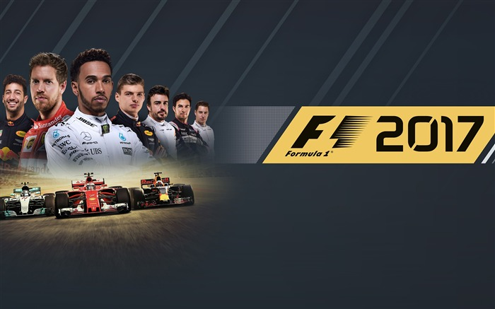 F1 2017 formula one-2017 Game HD Wallpapers Views:1150