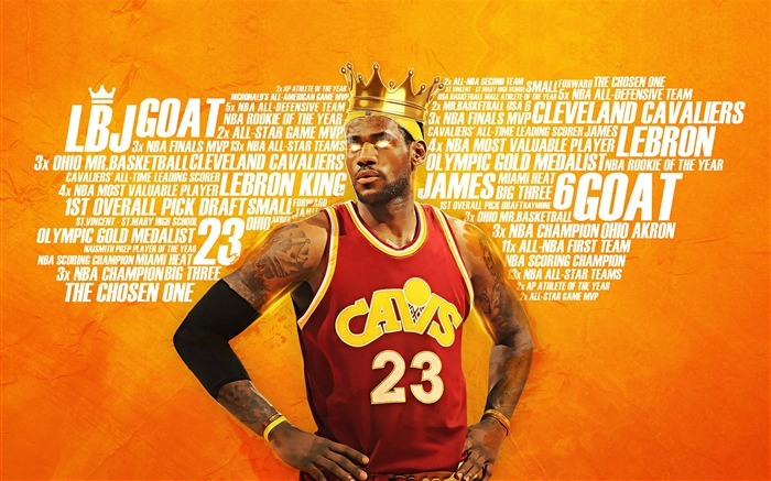 2016-17 NBA Finals Superstar Desktop Wallpaper Views:1732