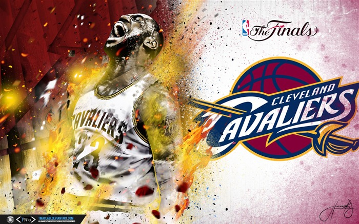 LeBron James Finals-2016-17 NBA Desktop Wallpaper Views:824