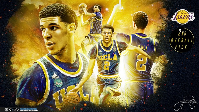 Lonzo Ball 2nd Pick-2016-17 NBA Desktop Wallpaper Views:663