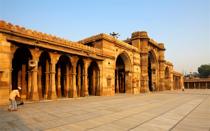 Mosque Ahmedabad City India-National Geographic Wallpaper Views:2922 Date:9/22/2017 1:25:31 AM