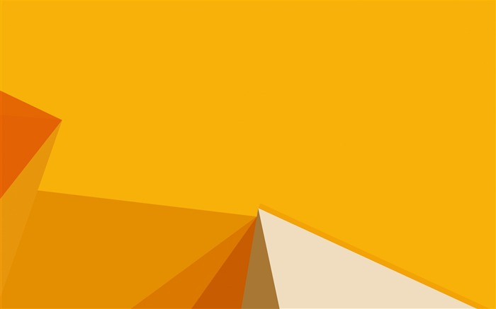 Polygon yellow-Vector HD Wallpaper Views:317