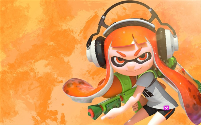 Splatoon 2 Female inkling-2017 Game HD Wallpapers Views:1300