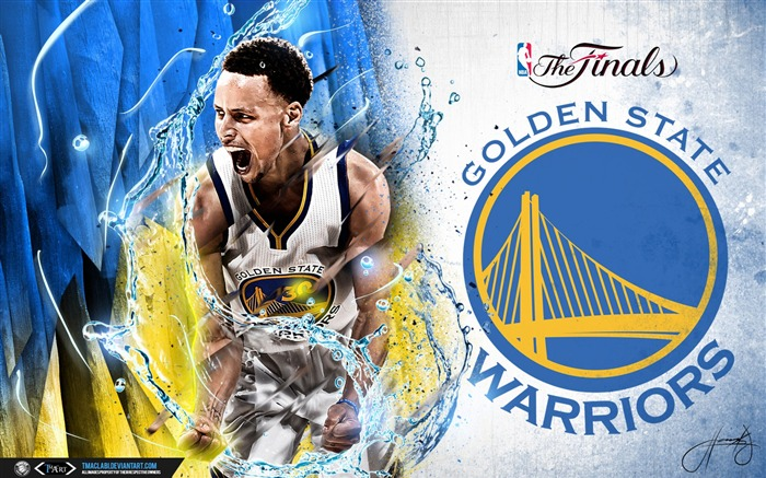 Stephen Curry Finals-2016-17 NBA Desktop Wallpaper Views:879