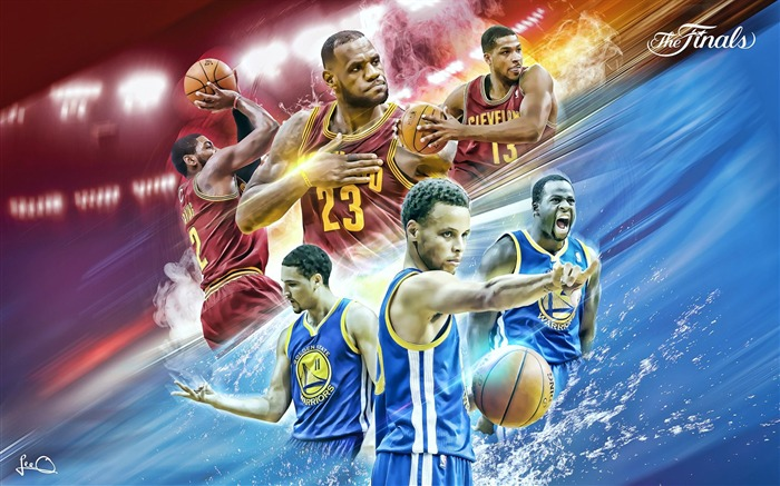 The Finals-2016-17 NBA Desktop Wallpaper Views:872