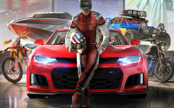 The crew 2 2018-2017 Game HD Wallpapers Views:823