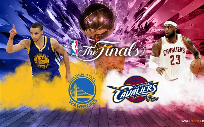 Warriors VS Cavaliers-2016-17 NBA The Finals Wallpaper Views:932