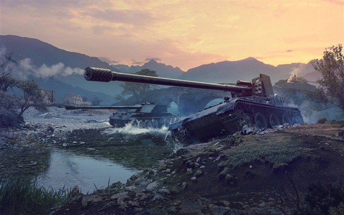 World of tanks german tank destroyers-2017 Game HD Wallpapers Views:920