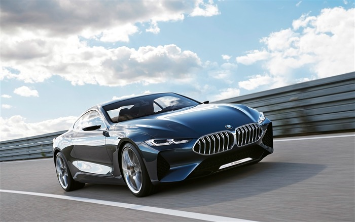 2017 BMW Concept 8 Series HD Wallpaper Views:11598