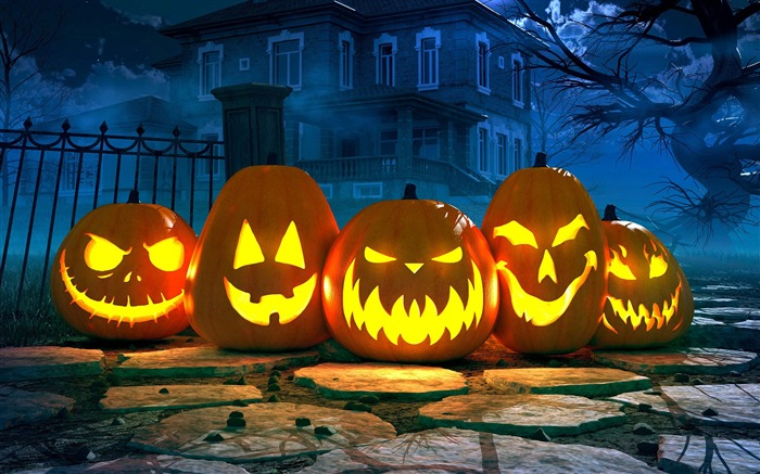 2017 Celebrations Halloween HD Wallpaper 07 Views:339