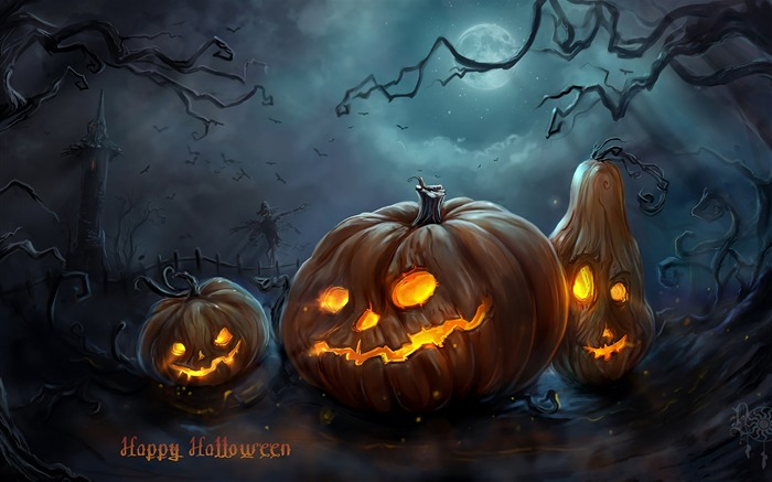 2017 Celebrations Halloween HD Wallpaper 15 Views:666