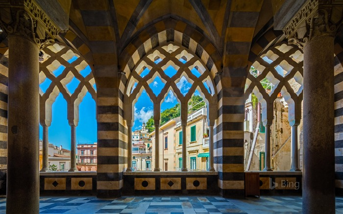 Italy Amalfi Cathedral in Amalfi 2017 Bing Wallpaper Views:531