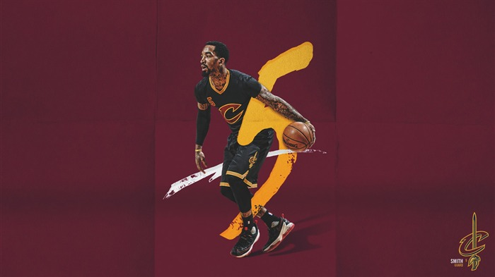 JR Smith NBA 2017 Cleveland Cavaliers Wallpapers Views:1121