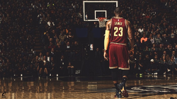 LeBron James NBA 2017 Cleveland Cavaliers Wallpaper Views:1578