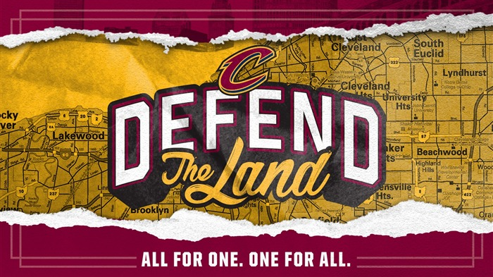 NBA 2017 Cleveland Cavaliers Theme Wallpaper Views:1168