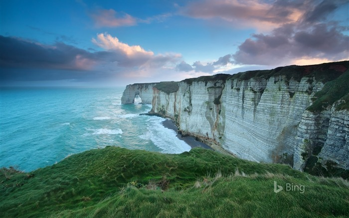 Normandy Cliff of Etretat France 2017 Bing Wallpaper Views:279