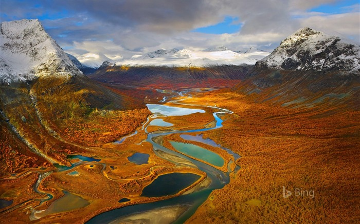 Sweden The Rapa Valley in Sarek National Park 2017 Bing Wallpaper Views:402